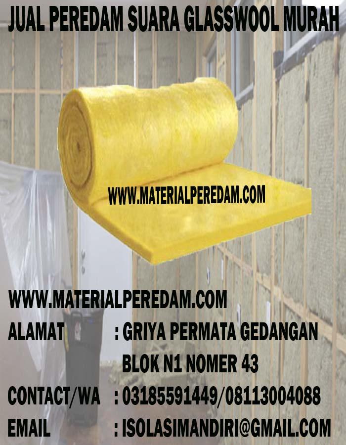 JUAL PEREDAM SUARA GLASSWOOL D16