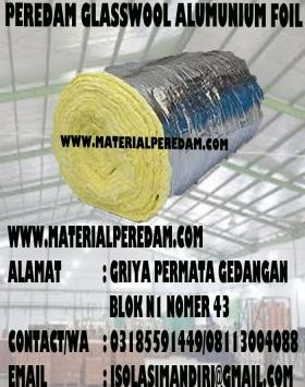 Glasswool Alumunium Foil Murah D32