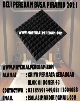 Busa Peredam suara Piramid 50x50x6cm
