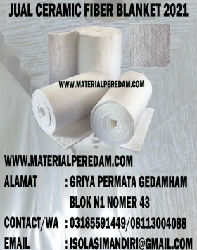 INSULATION CERAMIC PAPER TEBAL 5 MM