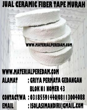 ceramic fiberglass tape 5cm 2 inch