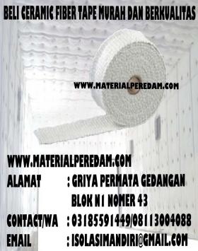 Ceramic Fiber Cloth 1260C tebal 2mm